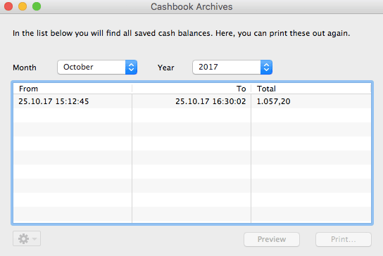 cash book archives