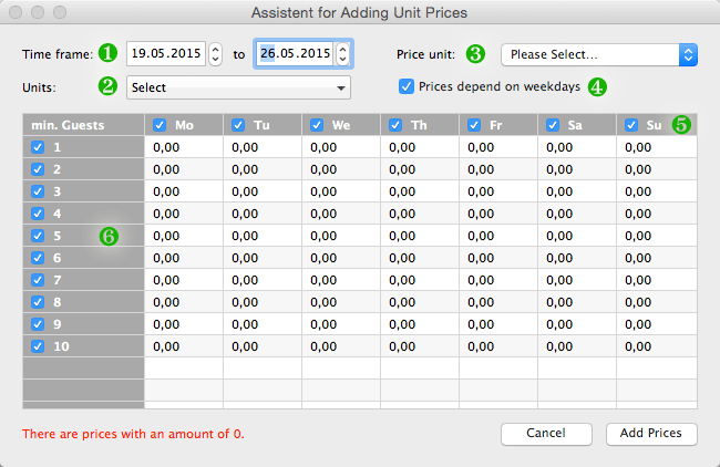 screenshot price assistant